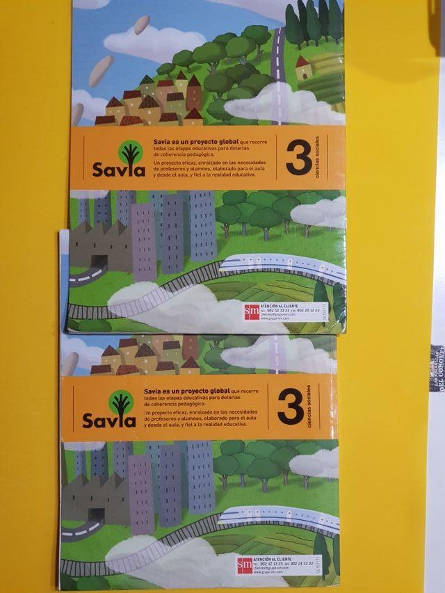 Libro de Sociales 3 primaria.