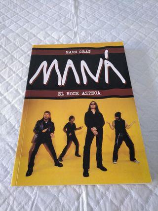 libro mana , el rock Azteca. marc gras. tapa bland