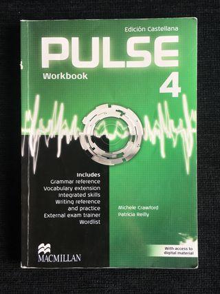 Libro INGLÉS (WORKBOOK) - PULSE- 4o ESO