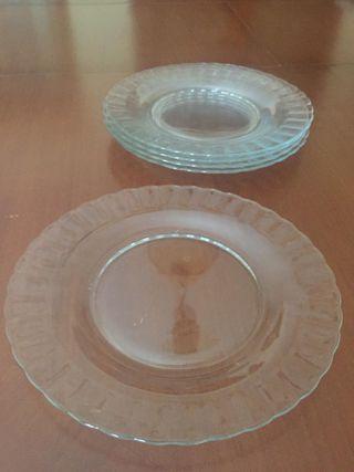 Platos Duralex transparentes