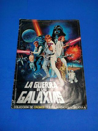 álbum la guerra de las galaxias año 1977