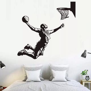 VINILO DECORATIVO BALONCESTO