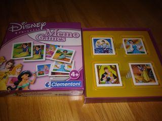 Disney princess Memo Games
