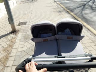 2 Capazos/ Hamaca mountain buggy gemelar