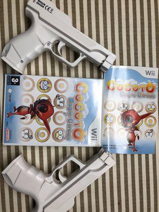 Juego Wii Cocoto+ 2 pistolas
