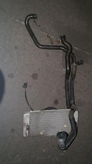 radiador + tubos xmax 125cc