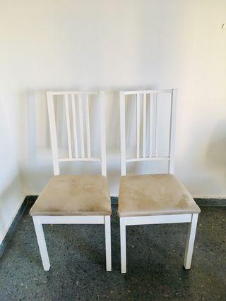 Conjunto 2 sillas comedor Ikea