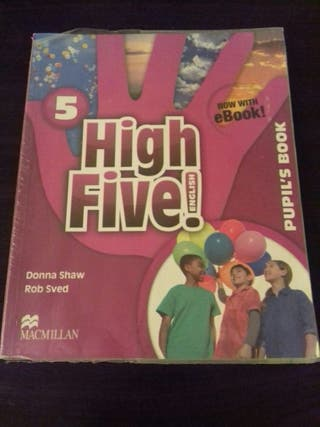 Libro de Ingles High Five 5 Primaria MacMillan