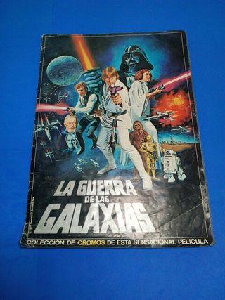 álbum de cromos la guerra de las galaxias año1977