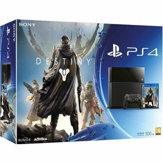 PS4 500gb + 1 mando + destiny