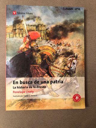 """Libro lectura """"En busca de una patria"""""""
