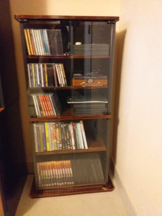 mueble para dvd y cd