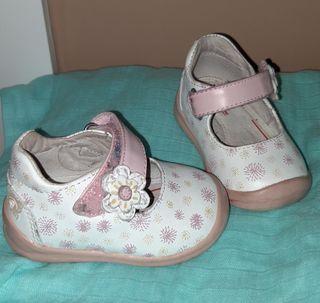 Zapatos bebe niña numero 18