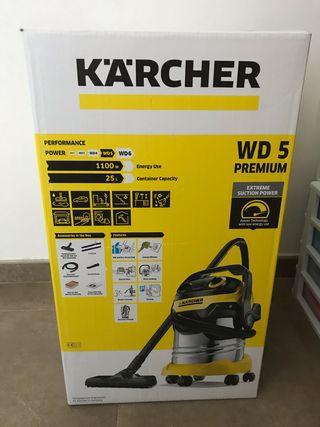 Aspirador karcher wd5 premium