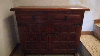 Mueble taquilla castellano