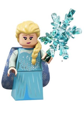 Elsa Minifigures Lego