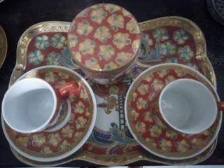 juego de café tu y yo de porcelana