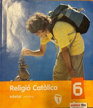 Religió catòlica 6 Primaria Ed. Edebé