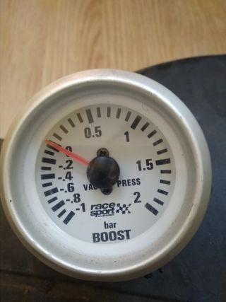 Reloj presión del turbo