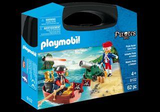 Playmobil maletin grande pirata y soldados