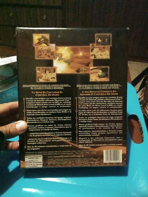 DUNE 2000 Juego PC en caja grande carton ¡¡NUEVO!!