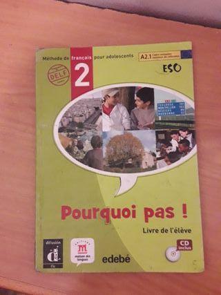 """Libro de Francés """"Pourquoi pas!"""""""