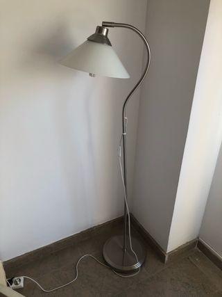 Lámpara por plata blanca de pie tulipa mano ikea segunda de 8nyvNOwm0