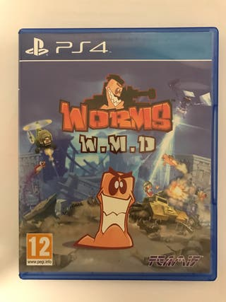 Juego Worms WMD PS4