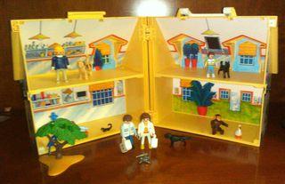 casa maletin playmobil