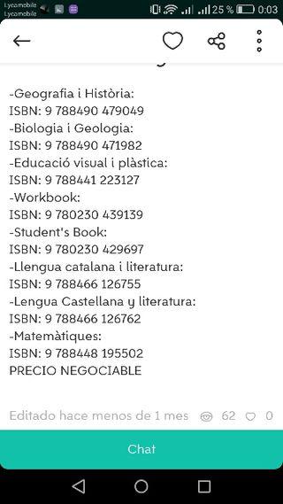 Libros Instituto tarragona