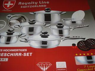 Bateria de cocina royalty line 16 piezas