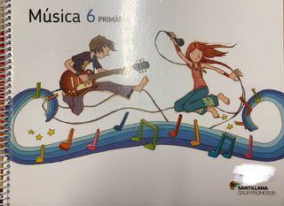Música 6 Primaria Ed. Santillana