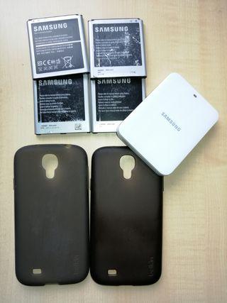 Baterías y Cargador Externo