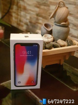 Iphone X 64gb Space Gray PRECINTADO