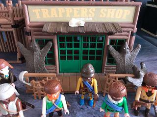 Playmobil tienda de los tramperos