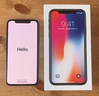 Iphone X 64gb Space Gray GARANTIA