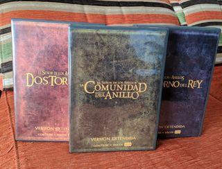 El Señor de los Anillos DVD (trilogía extendida)