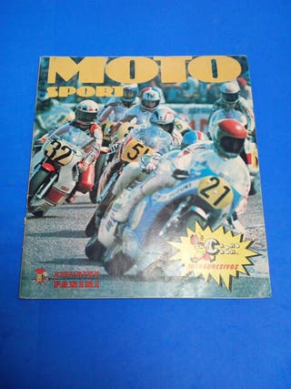 álbum de cromos moto sport año1980 panini