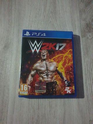 2K17 WWE PS4