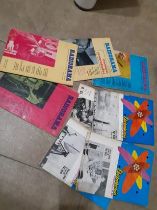 lote revistas electrónicas antiguas