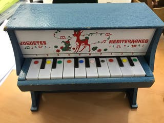 Piano Juguetes Mediterráneo