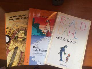 Pack 3 llibres Les Briuxes, La Momia.., Dark..
