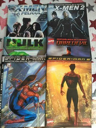 Adaptaciones de superhéroes. Cómics