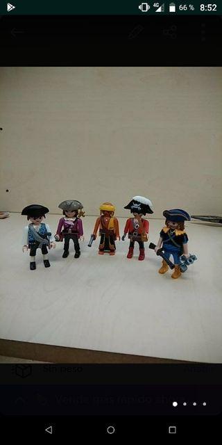 Playmobil lote figuras pirata