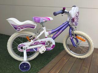 """Bicicleta para niña de 3 a 6 años (16"""")"""