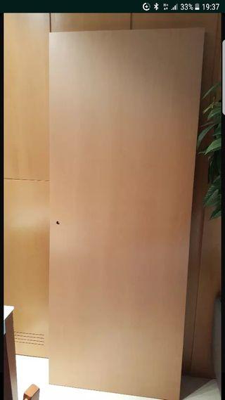 Puerta Haya vaporizada MACIZA NUEVA