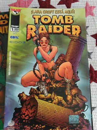 Colección Tomb Raider cómics.