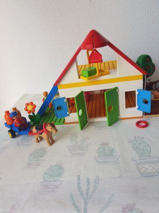 Casa de campo de playmobil 123