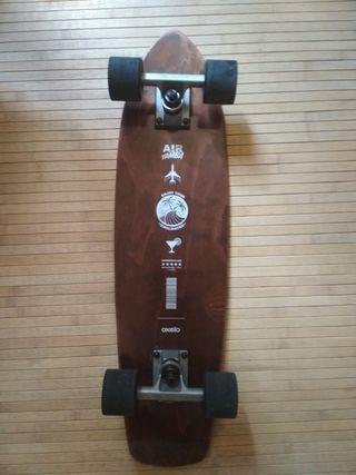 Skate Cruiser Oxelo Yamba Madera.