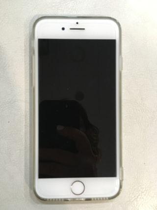 Iphone 7 128GB plateado con garantía
